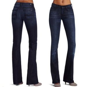 7 For All Mankind High Waist Bootcut Jeans NWT 31